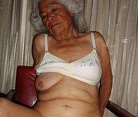 Ugly wrinkled oldest woman hard