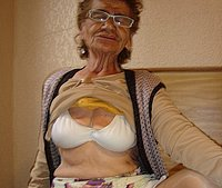 Hot amateur old granny