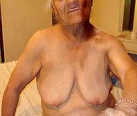 Small old granny