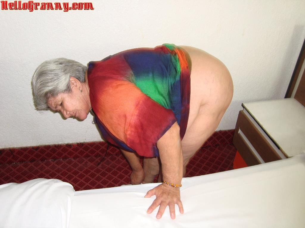 Old latina granny you need to witness the