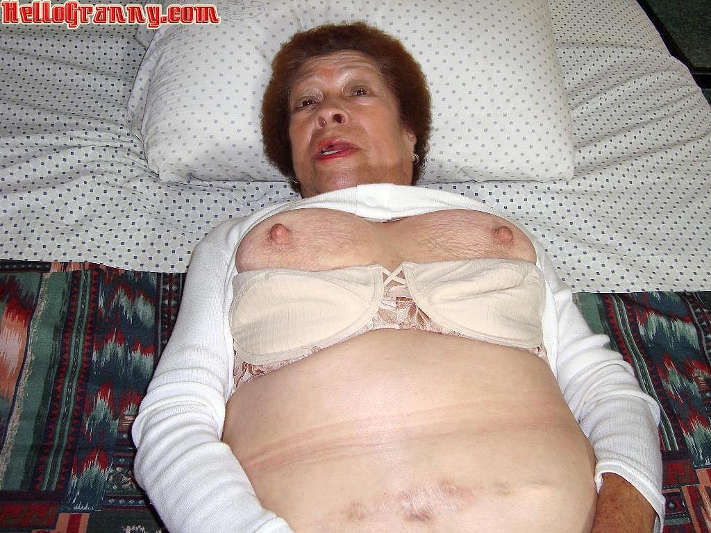 Granny boobs old Big Dick