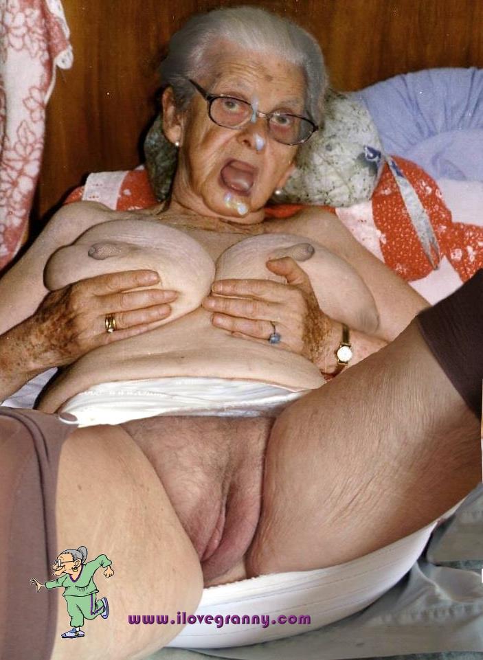 Loves bukkake Granny opinion obvious