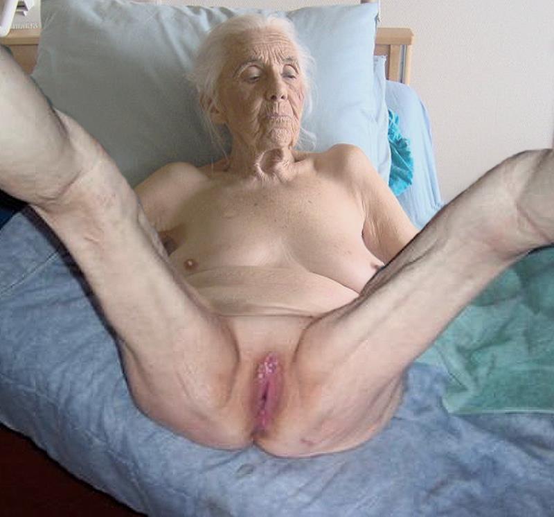 Очень старые женщины в порнографии