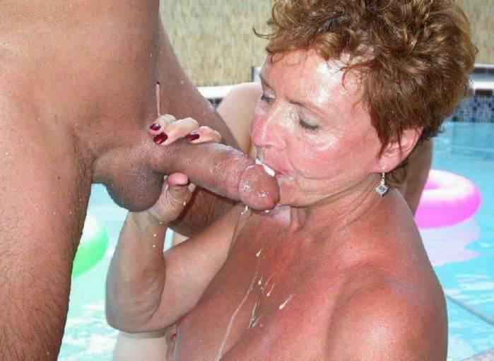 Redhead granny valerie