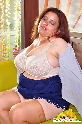Busty and curvy latin matures and grannies