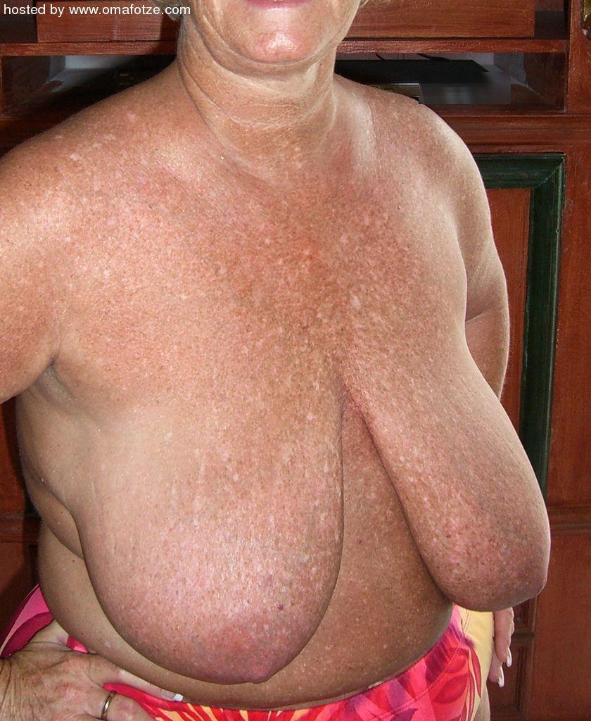 Oma big boobs