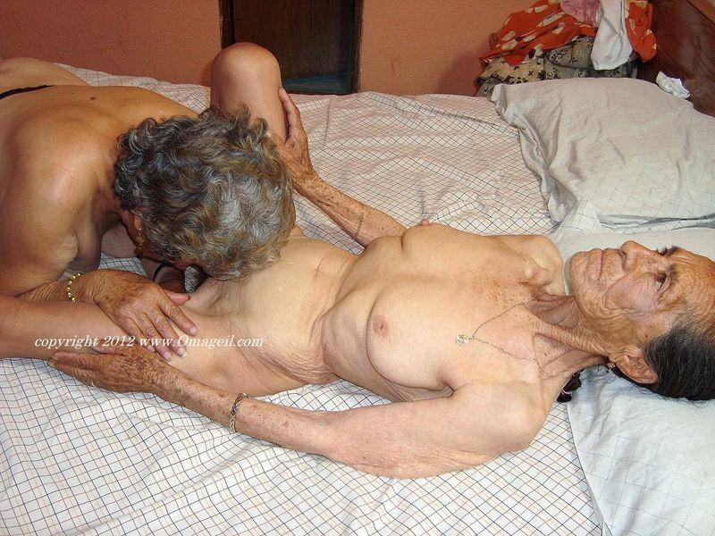 Granny and grandpa having some fun 3