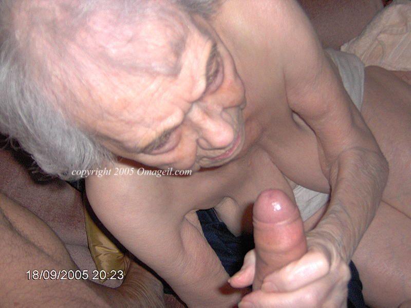 60 Year Old Granny Threesome