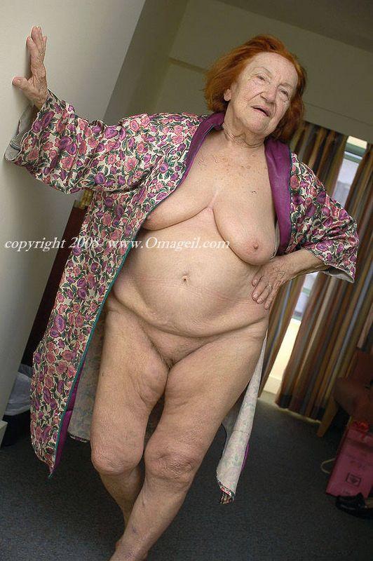 Oma tits granny old very