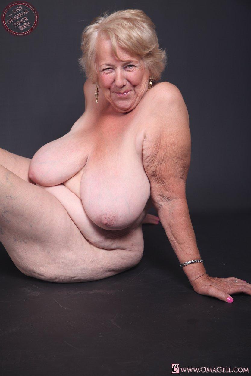 fat granny solo