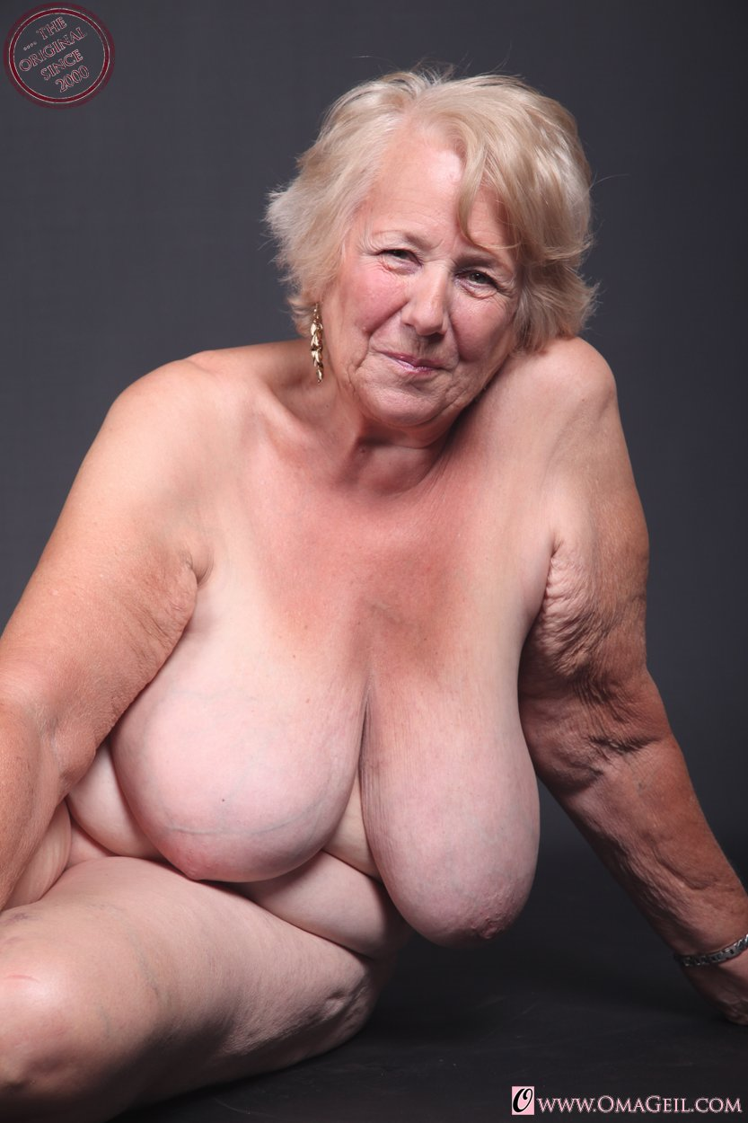 Mine oma sex geil want Damn, her