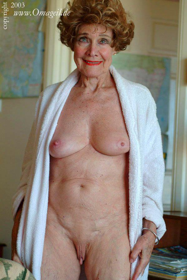 Older nude women large brests