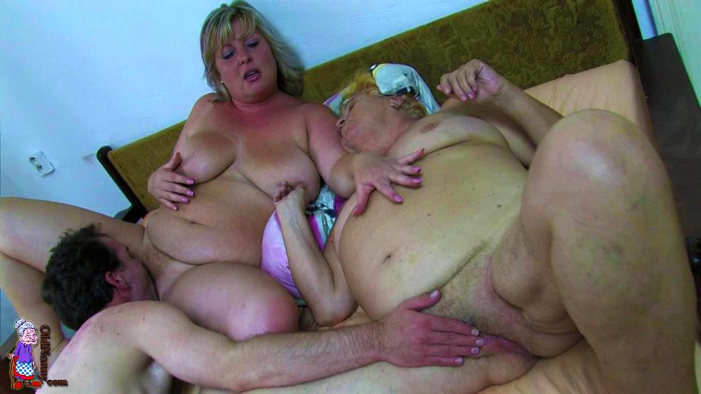 Видео порно русская жирная старуха