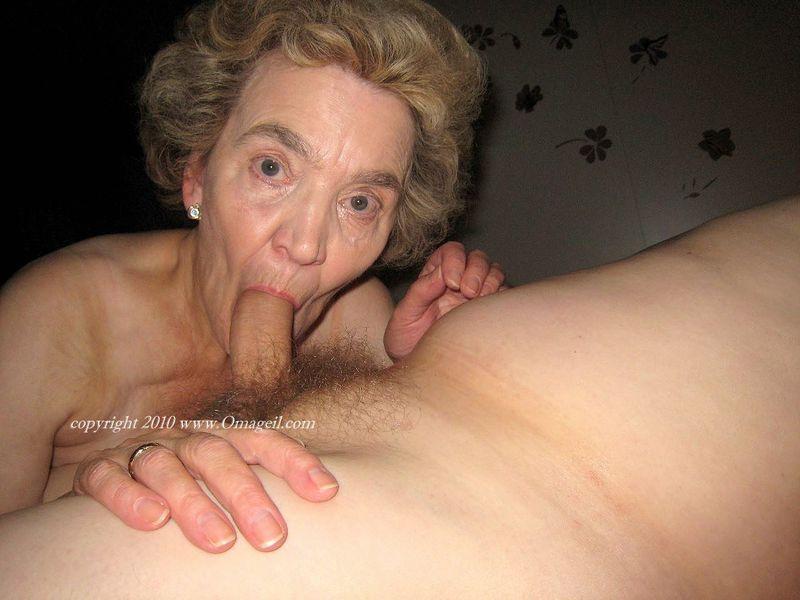 Opinion oma granny sucking cock