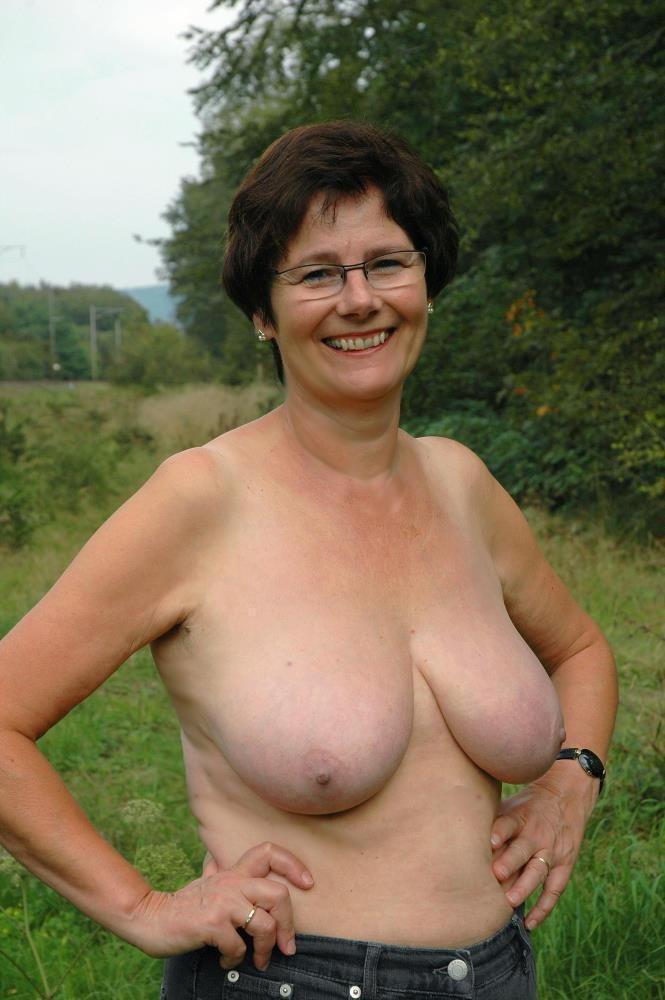 breasts Amateur granny mature big