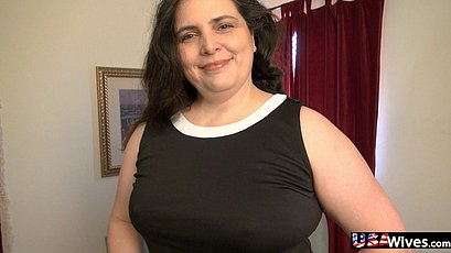 Busty curvy mature from USA pictured